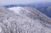 20霧氷の武奈ケ岳